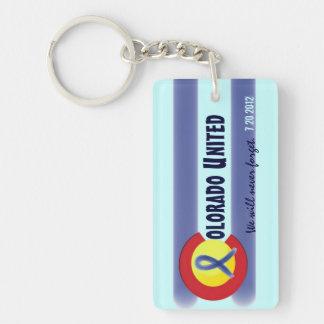 Colorado United state flag symbol memory keychain