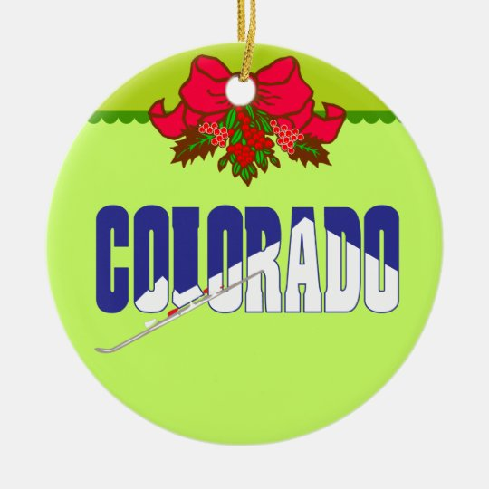 Colorado - US States Holiday Ornament