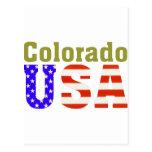 Colorado USA Aashen alpha Postcard