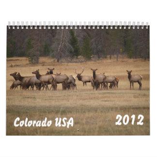 Colorado USA Calendar