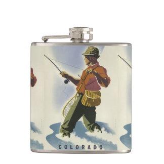 Colorado USA Vintage Travel flask