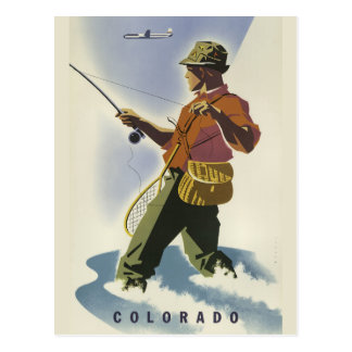 Colorado USA vintage travel postcard