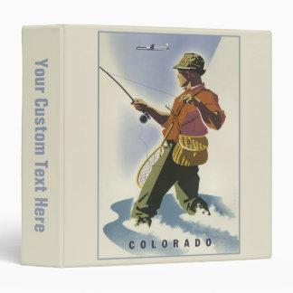 Colorado Vintage Travel Poster custom binders