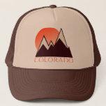 """Colorado Vintage Trucker Hat<br><div class=""""desc"""">Snow-capped peaks</div>"""