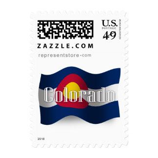 Colorado Waving Flag Stamp