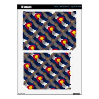 Colorado Waving Flag Skins For Wii