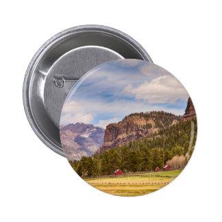 Colorado Western Landscape 2 Inch Round Button
