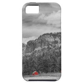 Colorado Western Landscape Red Barns iPhone SE/5/5s Case