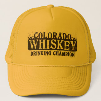 Colorado Whiskey Drinking Champion Trucker Hat