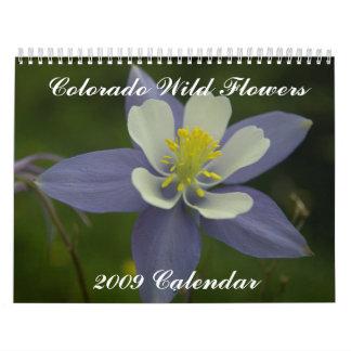 Colorado Wild Flowers, 2009 Calendar