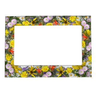 Colorado Wildflowers Magnetic Photo Frame