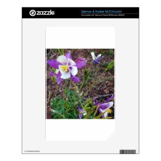 Colorado Wildflowers NOOK Color Decal