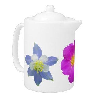 Colorado Wildflowers Teapot