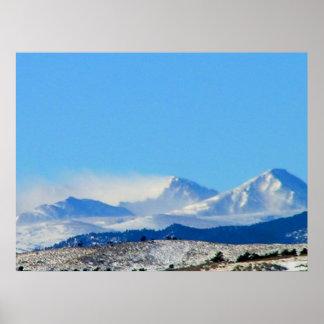 Colorado Windswept Poster