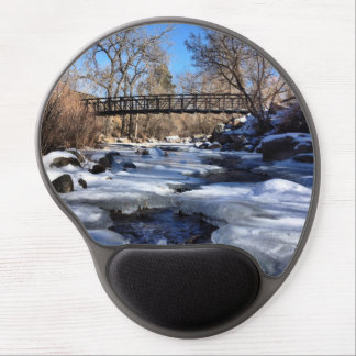 Colorado winter gel mouse pad