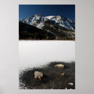 Colorado Winterscape Poster