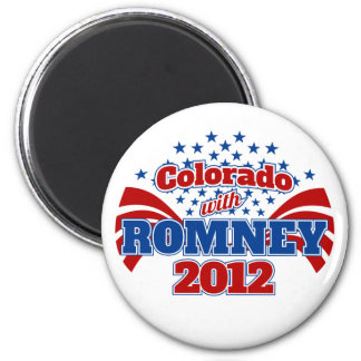 Colorado with Mitt Romney 2012 Magnet