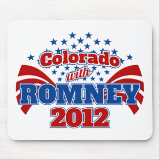 Colorado with Mitt Romney 2012 Mouse Pad