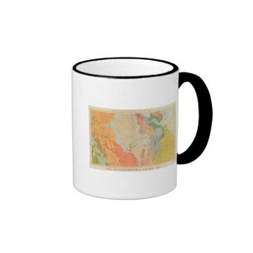 Colorado y parte centrales meridionales de New Méx Tazas De Café