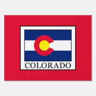 Colorado Yard Sign