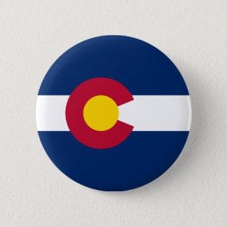 Colorado's Flag Pinback Button