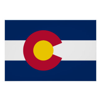 Colorado's Flag Print