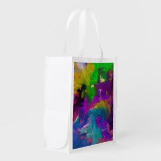 Colorage Digital Painting Design Grocery Bag
