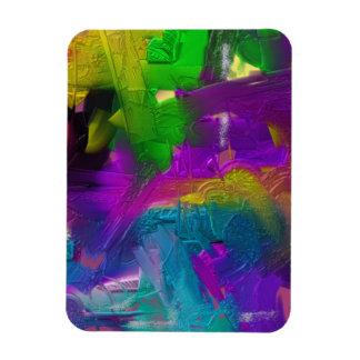 Colorage Digital Painting Design Rectangular Photo Magnet