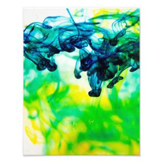 Colorante del agua arte con fotos