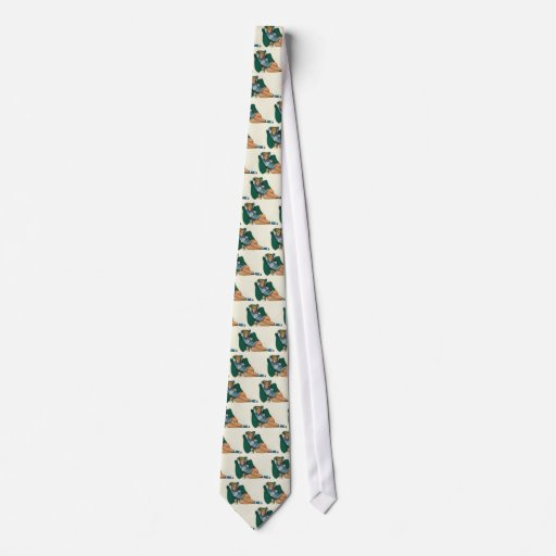 Colorante original 12 del chica modelo del vintage corbata personalizada