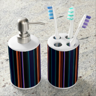 Colorbars Stripes SMPTE Test Pattern First Draft Bathroom Set