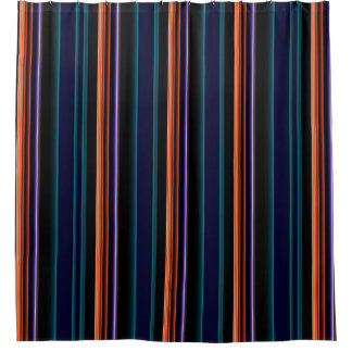 Colorbars Stripes SMPTE Test Pattern First Draft Shower Curtain