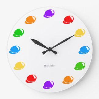 Colorbeans clock