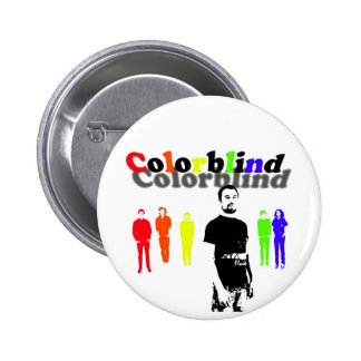 Colorblind 2 Inch Round Button