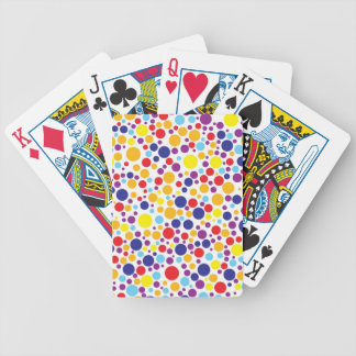 Colorblind Birthday - Blue, Yellow, Red, Orange Bicycle Playing Cards