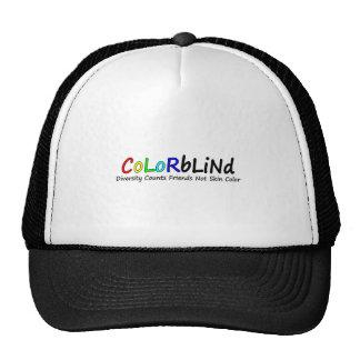 Colorblind Diversity Counts Friends Not Skin Color Trucker Hat
