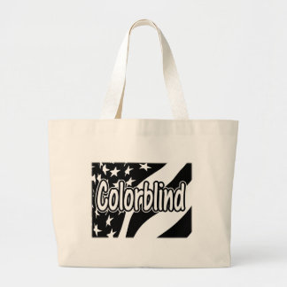 Colorblind Large Tote Bag