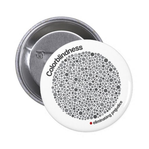 Colorblindness Pinback Buttons
