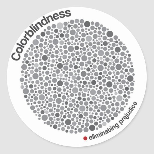 Colorblindness Sticker
