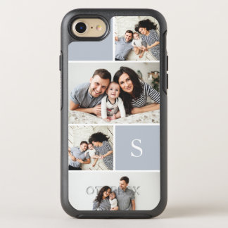 Colorblock Photo Collage & Monogram OtterBox Symmetry iPhone 8/7 Case