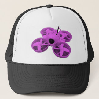 Colorblock Pinkish Purp Inductrix Tiny Whoop Drone Trucker Hat