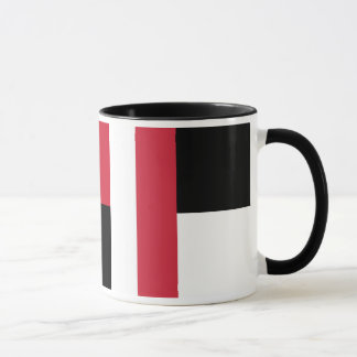 Colorblock - RWB Mug