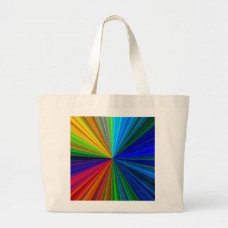 colorburst tote bag