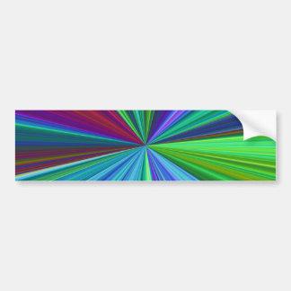 Colorburst Bumper Sticker