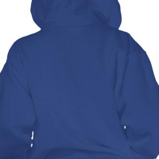 colorburst framed spiral square love hooded pullover
