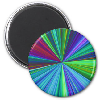 Colorburst 2 Inch Round Magnet