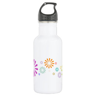 Colorbursts Stainless Steel Water Bottle