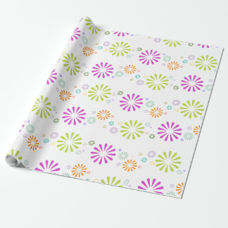 Colorbursts Wrapping Paper