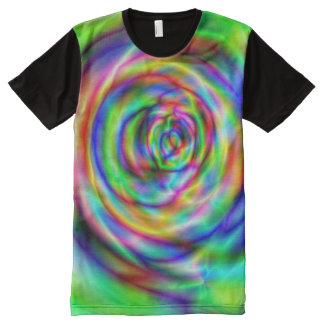 Colordelic All-Over Print T-shirt