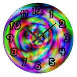 Colordelic Relojes De Pared